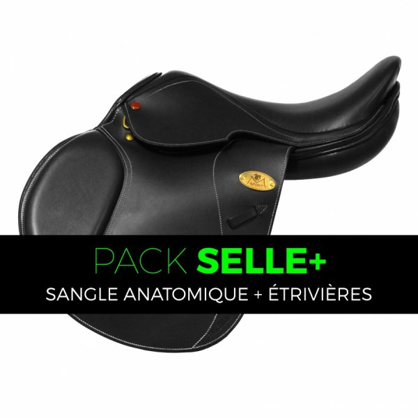 Selle New Tech II - Pack Anatomique