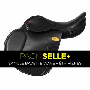 Selle New Tech II - Pack Sangle Bavette Wave
